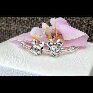 Pandora Mickey Minnie charm beads